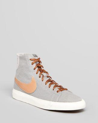 Nike Lace Up High Top Sneakers - Women's Blazer  Bloomingdale's  $90.00