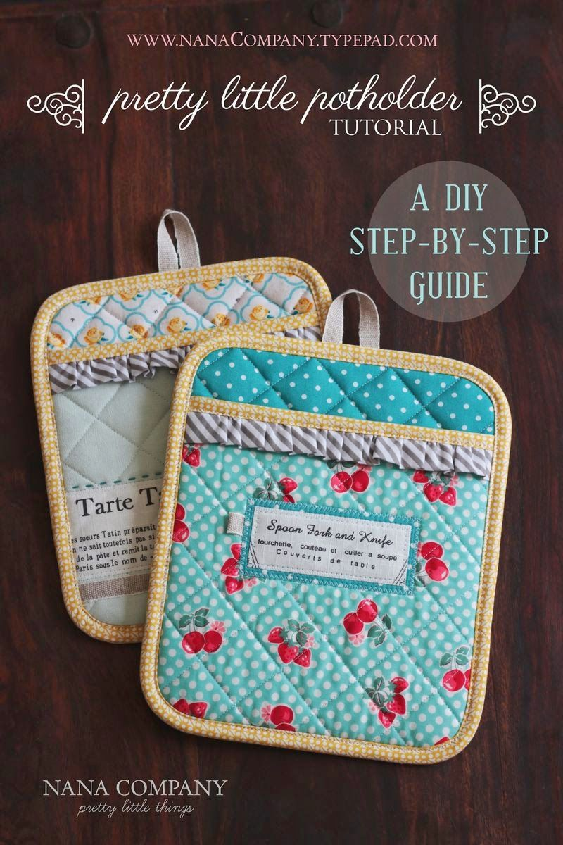 Fort Worth Fabric Studio: Kitchen Sewing Projects | techniques ...