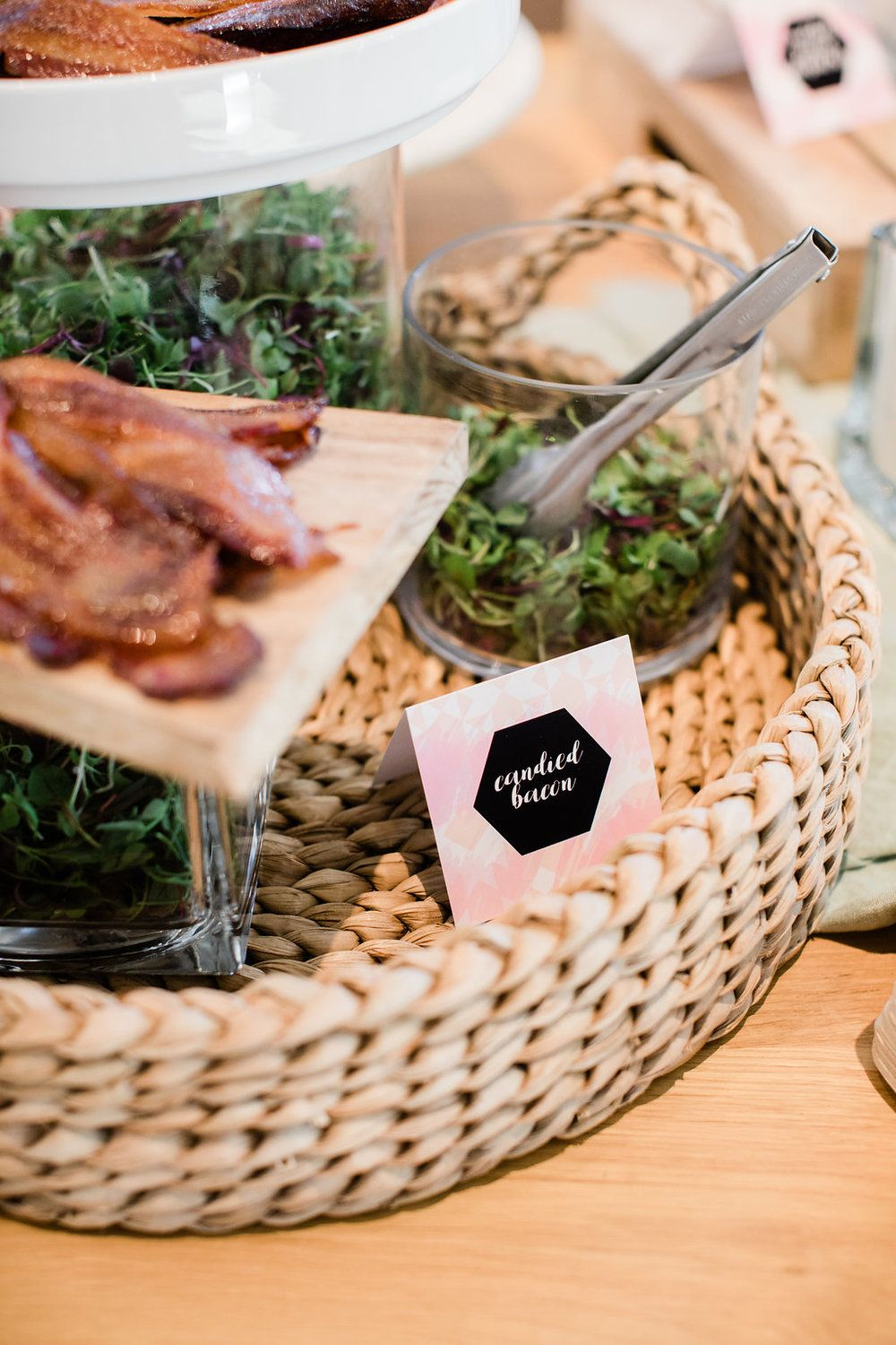 Wedding Registry Event with Crate and Barrel Event food
