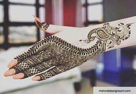 Mehndi Patterns : Pin by rafia a karim on henna hennas mehndi and