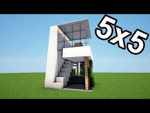 MINECRAFT TUTO MAISON 5X5 ! | Jeux vidéos & Astuces | Pinterest