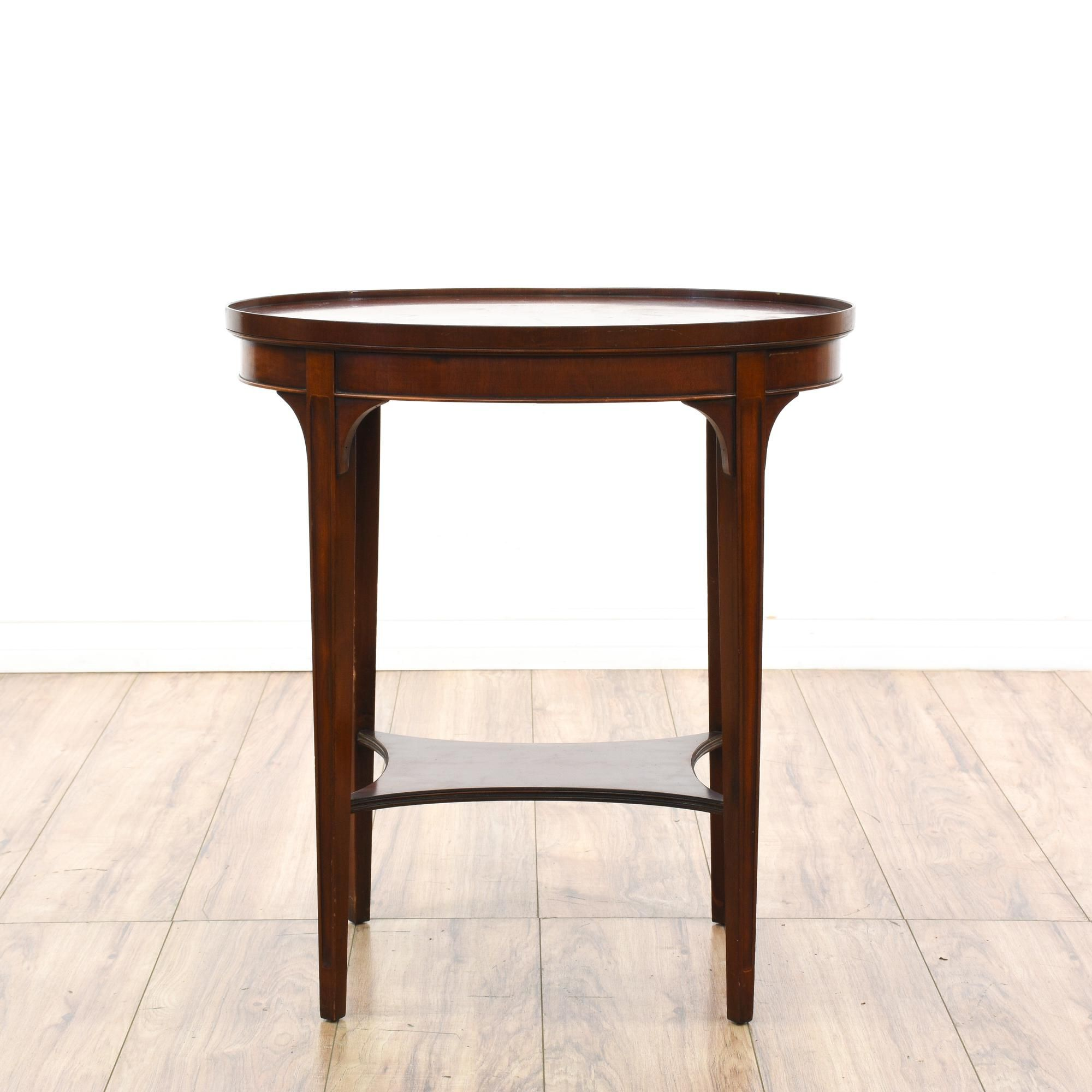 Furniture Legs San Diego oval mahogany end table | furniture san diego, tables and vintage
