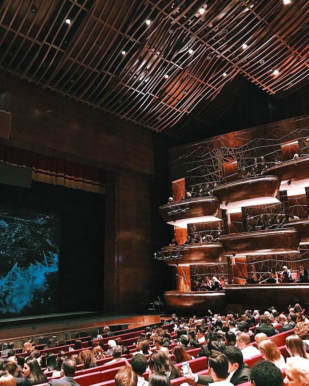 Dubai Opera House Uae Opera House Opera Music Theater