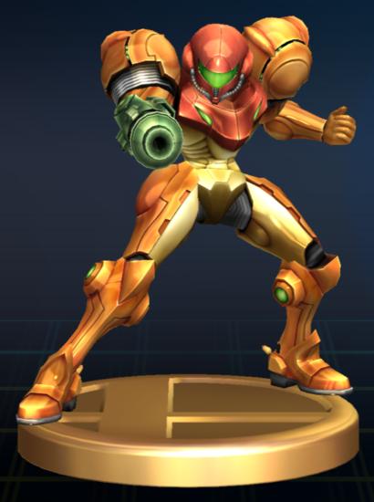 File Samus Brawl Trophy Png Samus Metroid Super Metroid