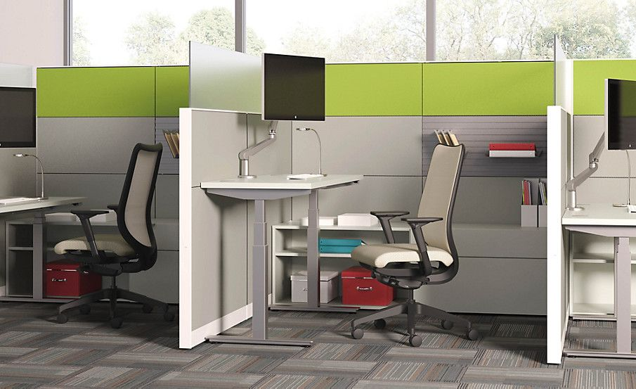 Coordinate Height Adjustable Base Hon Office Furniture Gsp