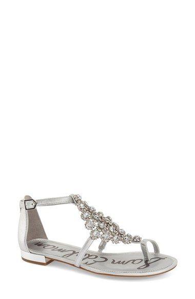 SAM EDELMAN 'Dillan Jewel' Crystal Embellished Sandal (Women). #samedelman #shoes #sandals