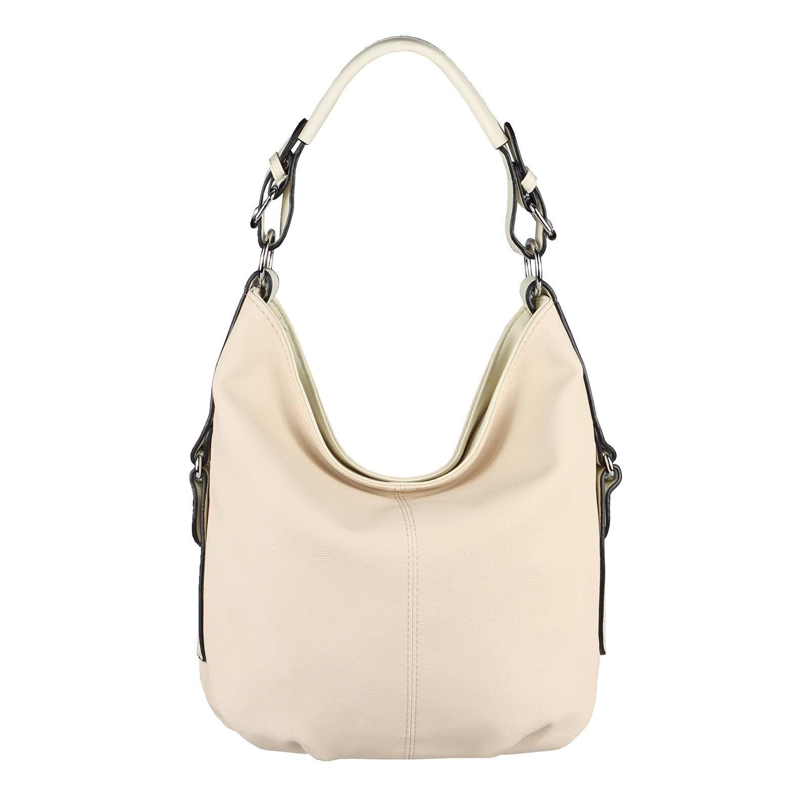 OBC WOMEN'S BAG SHOPPER Bolso Hobo Bolso de mano Bolso de hombro Bolso de hombro Bolso CrossOver CrossBag Bolso de mujer Bolso de viaje Bolso Hobo beige