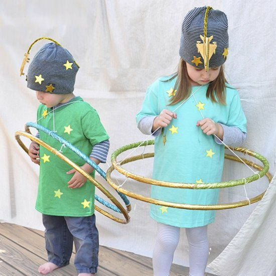 Create These Fun And Colorful Planet Costumes For