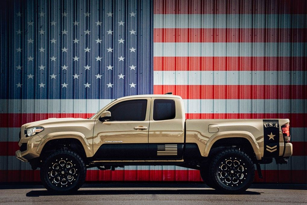 NEWLY LIFTED 2016 Toyota Tacoma 4x4 Truck with Custom ...