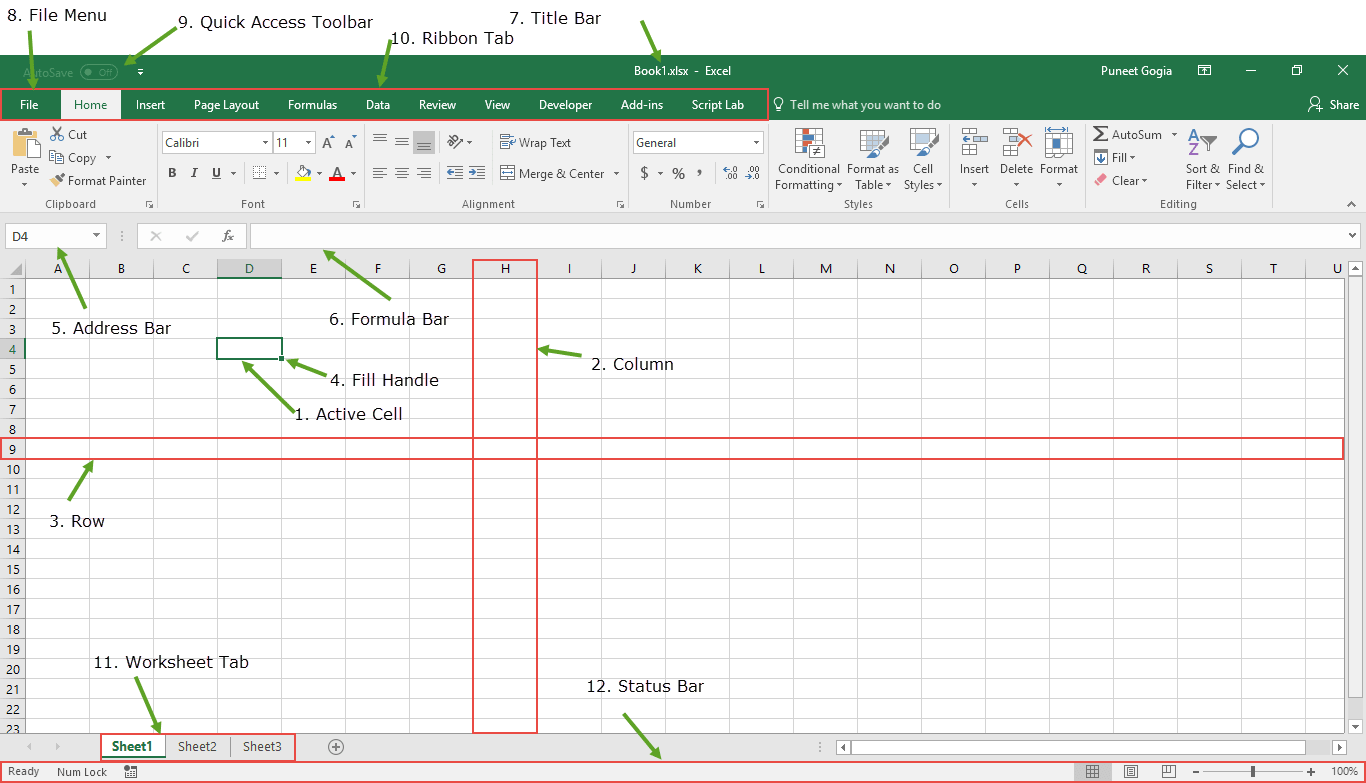 Excel Basic With Window Components
