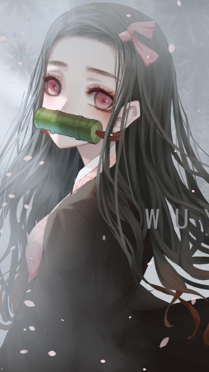 Anime Demon Slayer Kimetsu No Yaiba Nezuko Kamado 720x1280