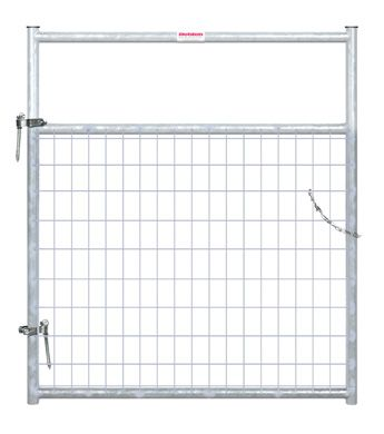 Behlen 4 Ft Galvanized 2 In By 4 In Wire Mesh Gate Wilco Farm Stores Wire Mesh Galvanized Gate