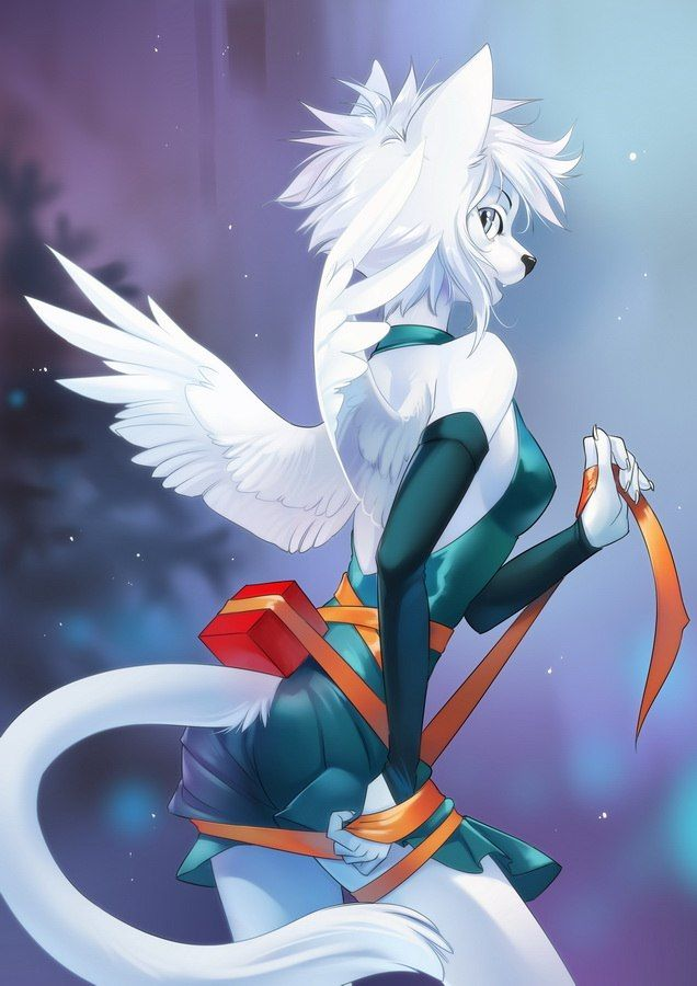 for christmas furry artbook winter furry furry furrybook furryart furryfandom christmas furrynewyear mintdog mint store bookstore orphen - Christmas Furry