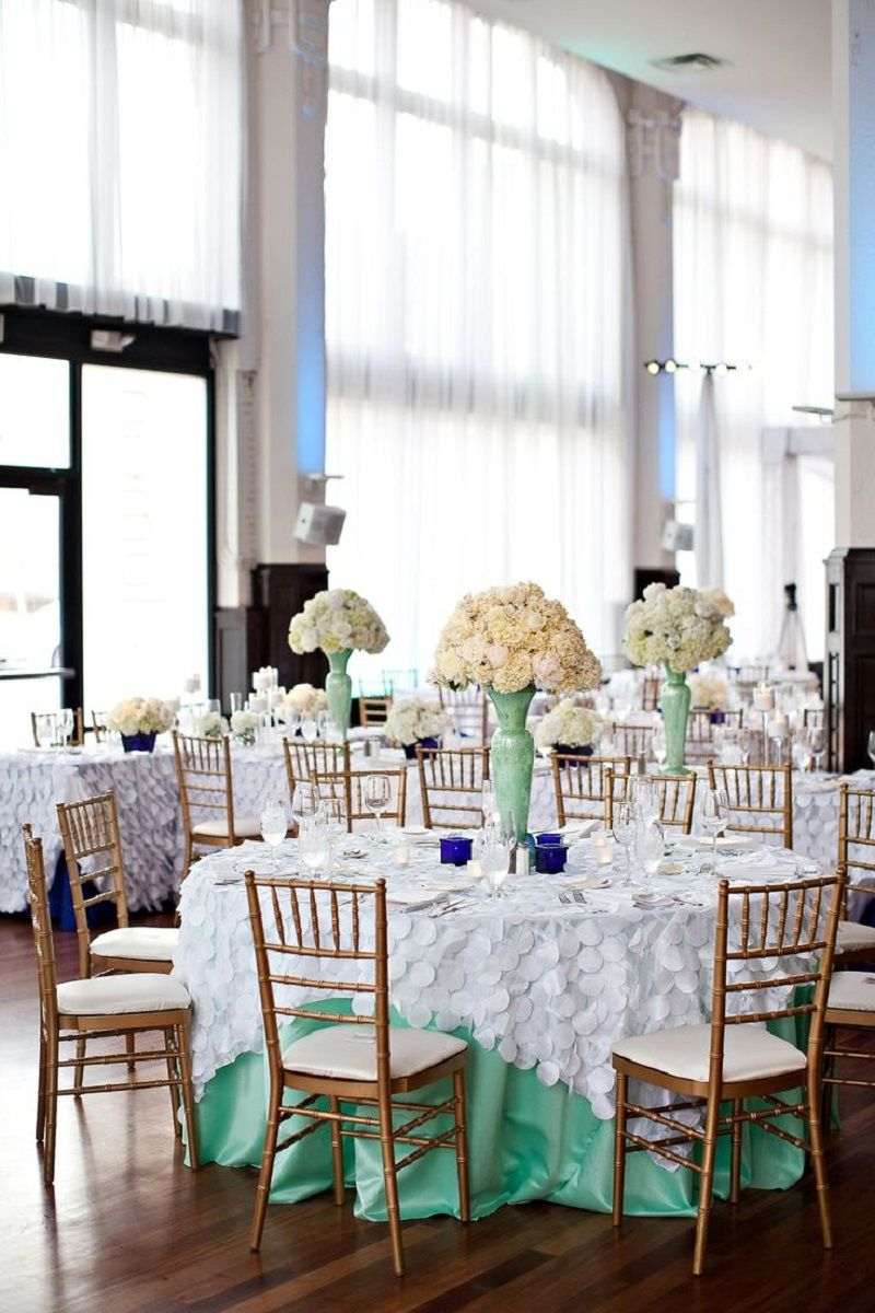 mint green & white wedding ~ we ❤ this! moncheribridals.com ...