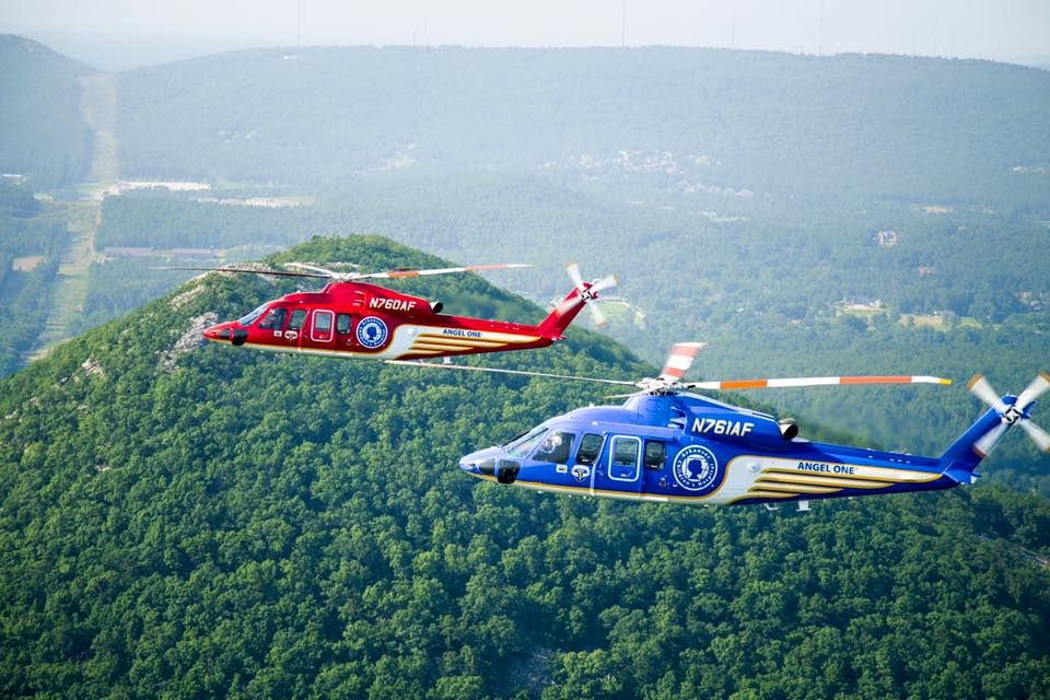 New Angel One Helicopters at Arkansas Children's Hospital