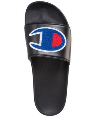 71cd7016e0de4 Champion Men s Ipo Chenille Slide Sandals from Finish Line - Black ...