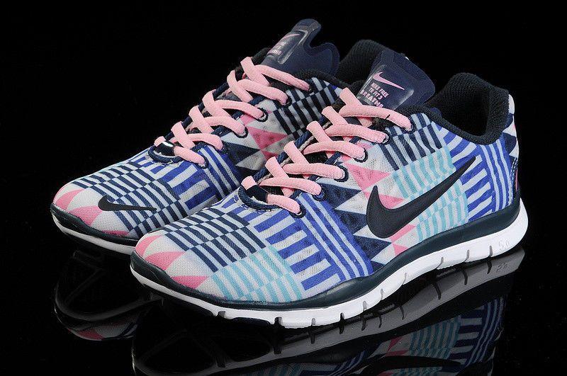 finest selection 618f0 2d532 Nike Free TR Fit 3 Pink Black White Green Aztec Chevron Tribal Roshe  555159-113