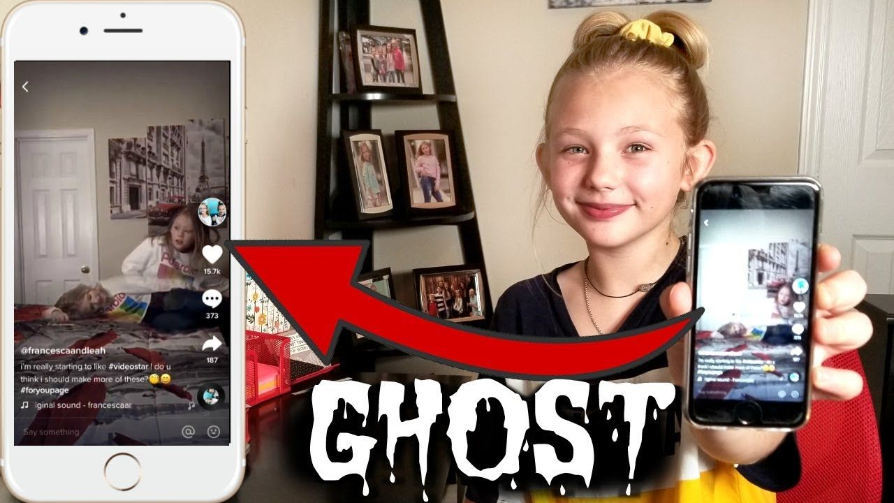 Ghost Transition Tutorial For Tik Tok Youtube Diy Crafts For Home Decor Kid Challenge Tutorial