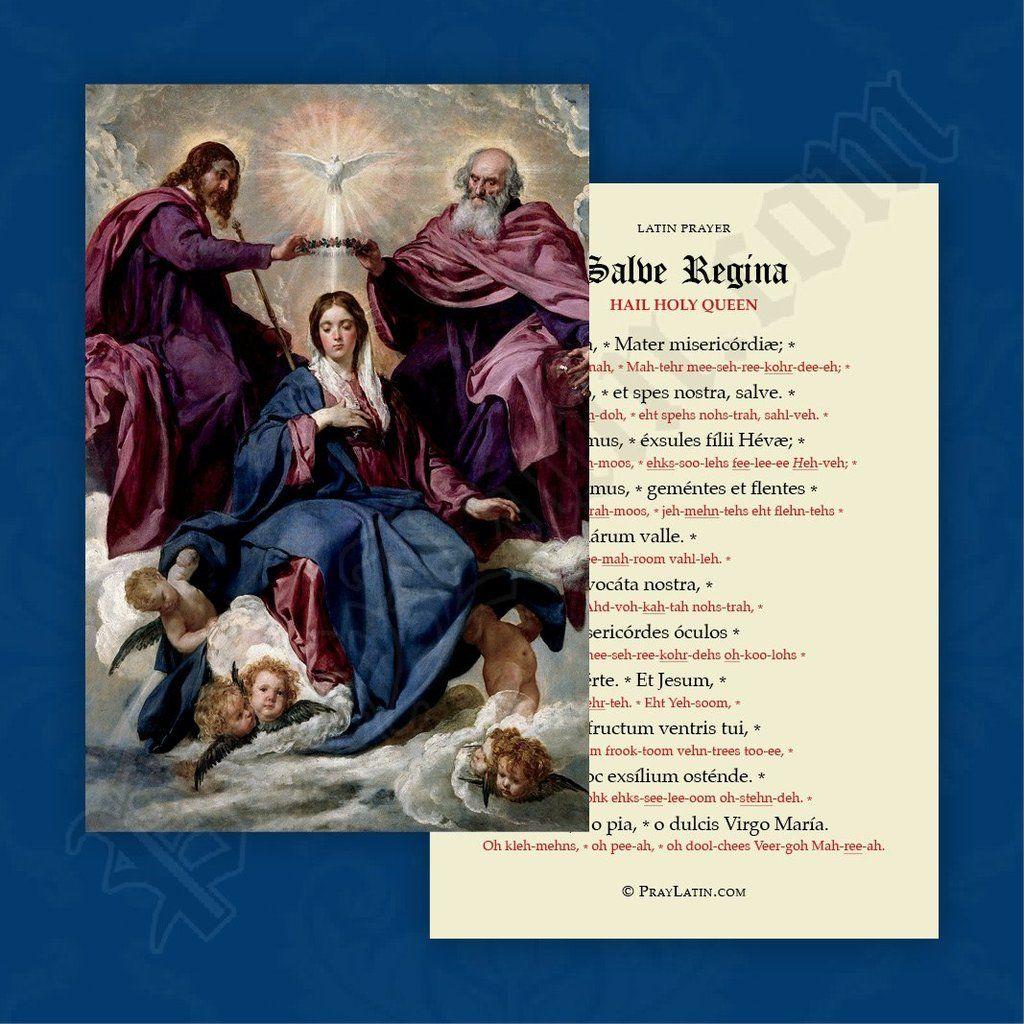 Salve Regina With Pronunciations