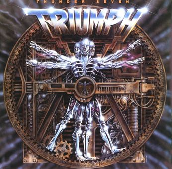 best rock album covers | triumph thunder seven music reviews and