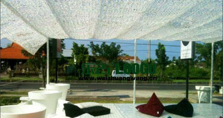 Achetez En Gros Camo Soleil Ombre En Ligne à Des Grossistes Camo Filet Camouflage Blanc Voile Ombrage Abri Camping