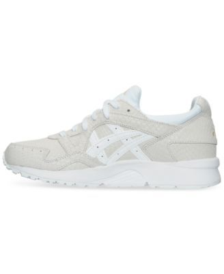 dbbe7adcf6 Asics Women s Tiger Gel-Lyte V Casual Sneakers from Finish Line - White 6.5