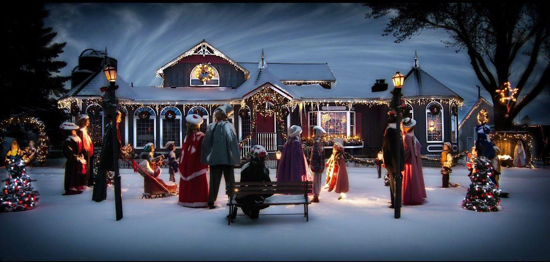 Fox Farm Christmas display Rosemount, MN by Bill Donavan