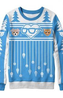 0540c1552 Morality Christmas Sweater Sander Sides, Thomas Sanders, Morality, Clothing  Company, Christmas Sweaters