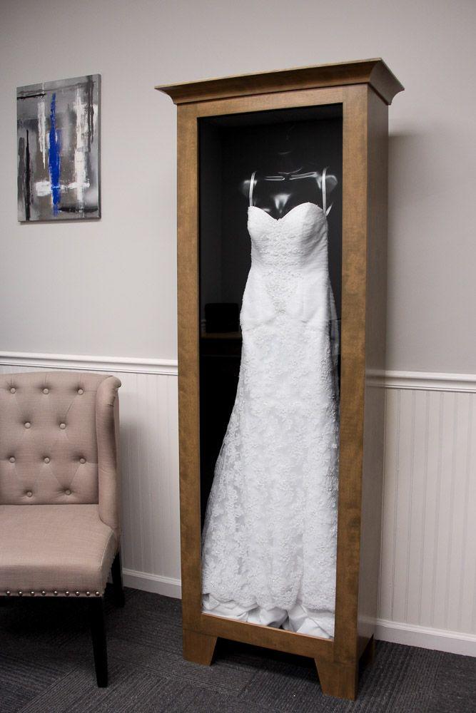 WEDDING DRESS DISPLAY CASE – Distinctive Millworks