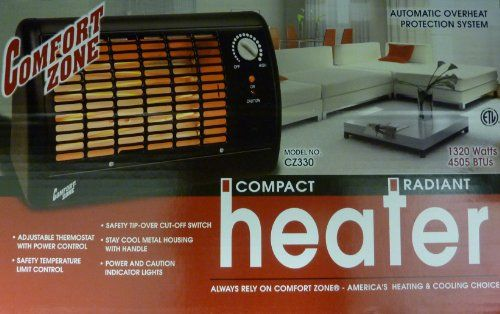 This Comfort Zone 1320 Watt Radiant Baseboard Heater Is A Space