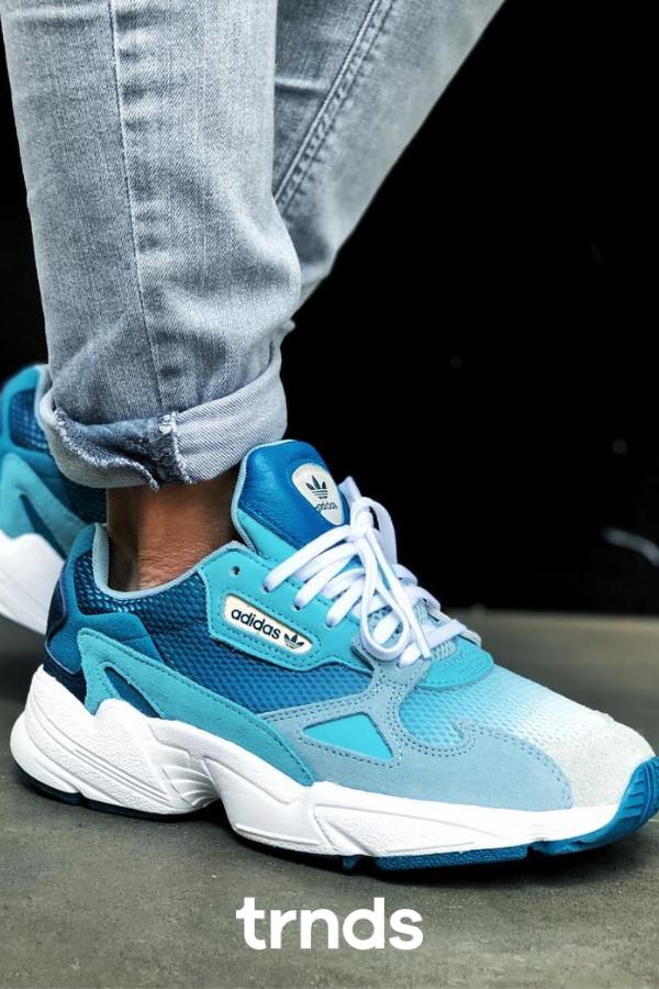 adidas Falcon Shoes - Blue | adidas