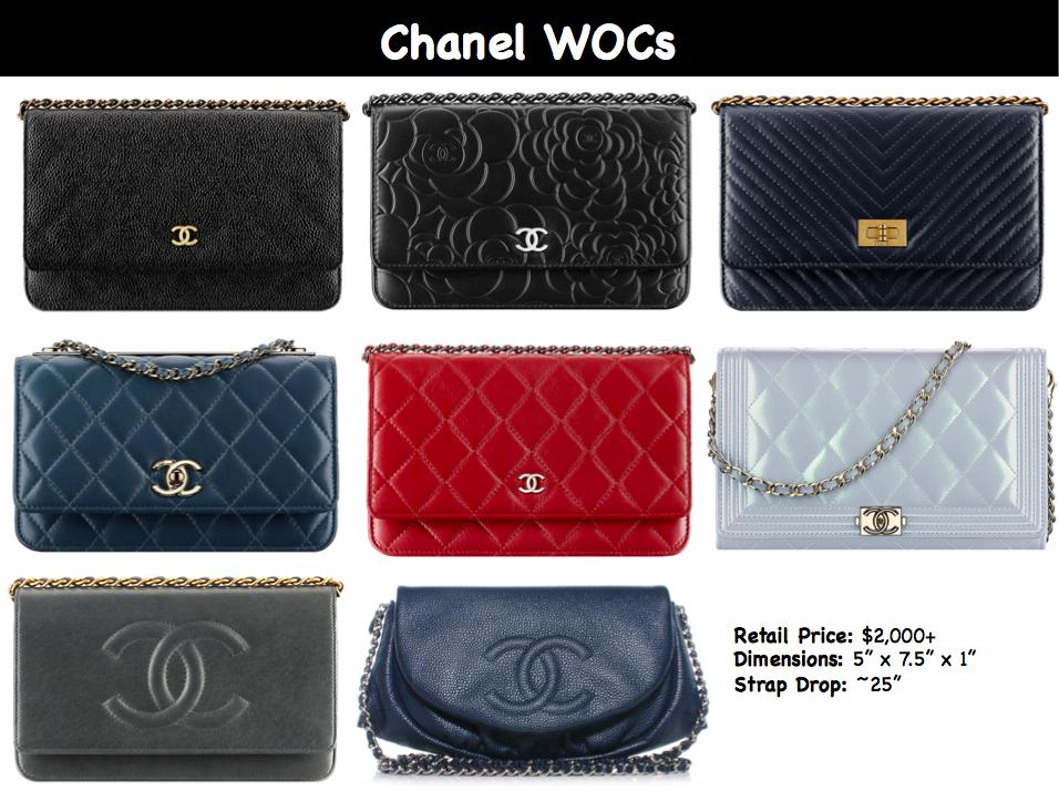 57f7db149f99 Chanel WOCs Chanel Woc