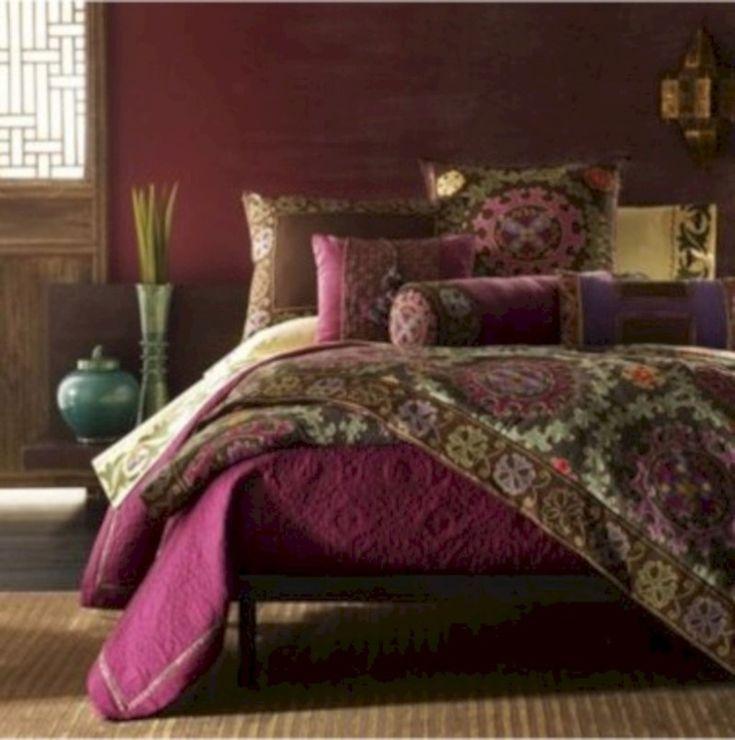 62 Moroccan Themed Bedroom Design Ideas #indischesschlafzimmer