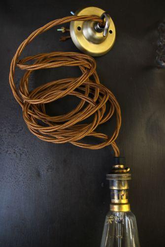 Vintage Style Triple Twisted Flex Light Fitting Amp Ceiling