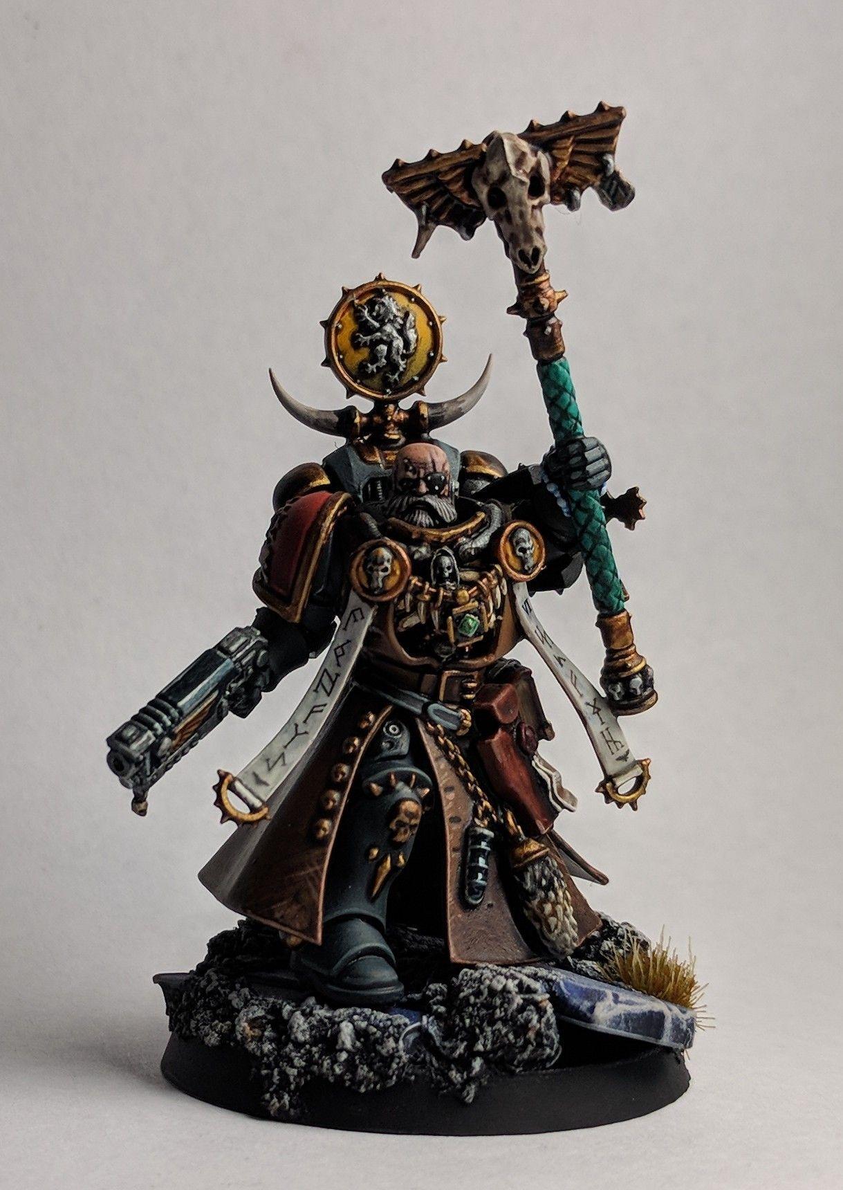 Ulrik The Slayer Primaris Edition Complete Paintingwarhammer