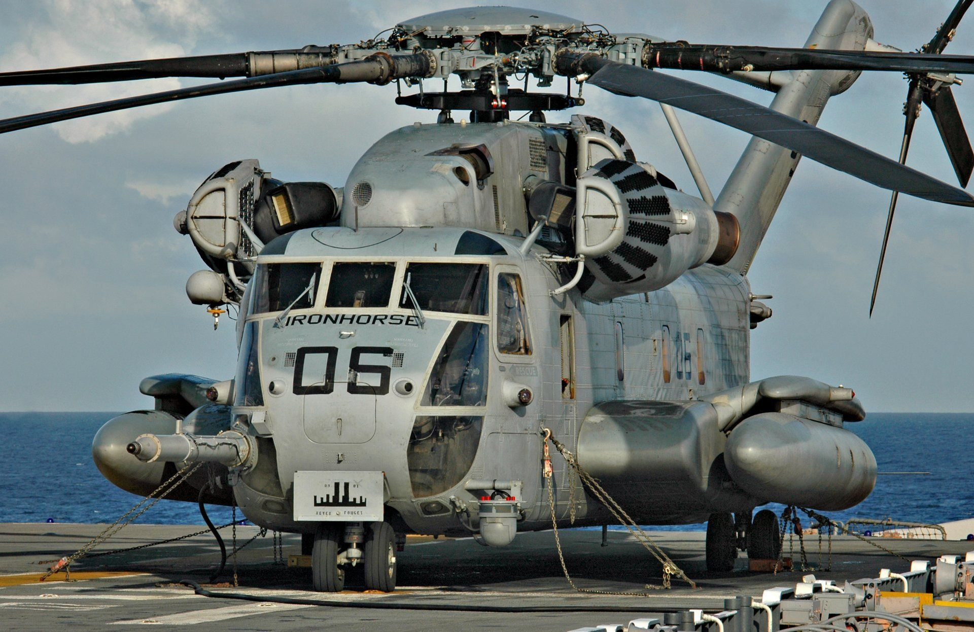 Ch 53 Sea Stallion Military Heavy Transport Hd Wallpaper For