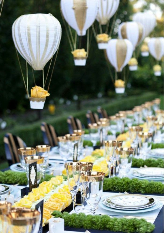 Table Decorations Garden Party Wedding Gartendeko Ideas