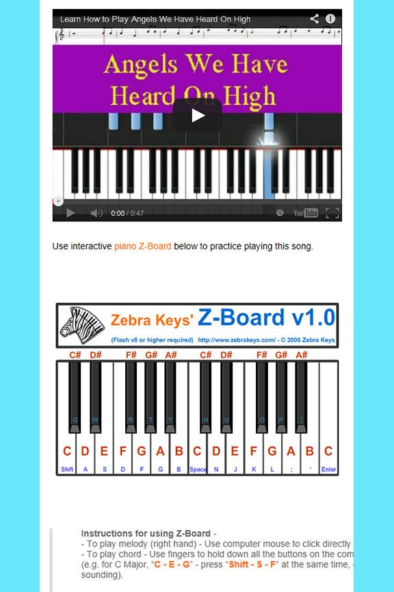Learn How To Play Christmas Song Free Piano Tutorial Comes With