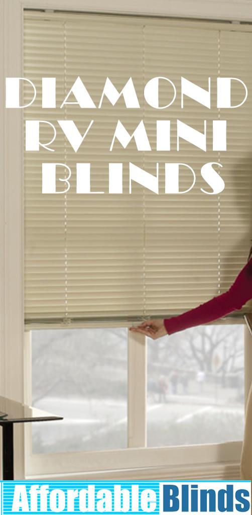 Elite 1 Cordless One Touch Mini Blinds Mini Blinds Blinds Custom Shades