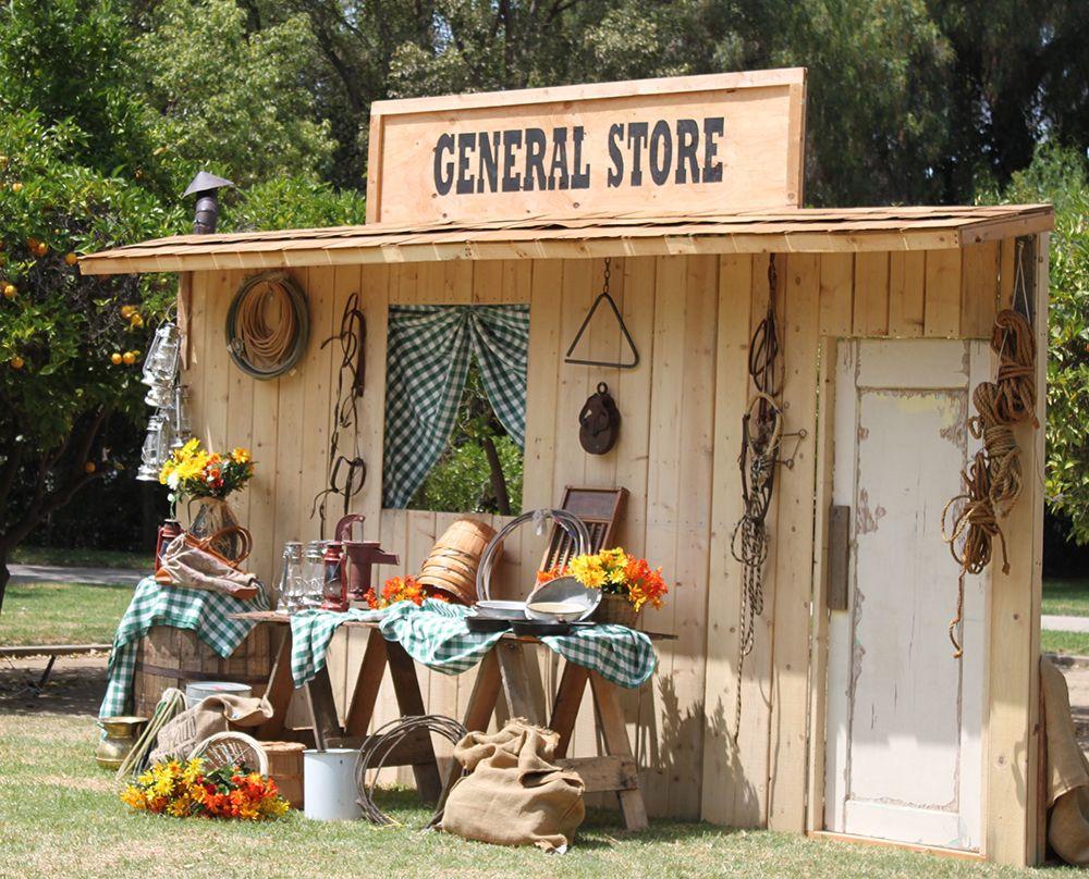 Western General Store Facade