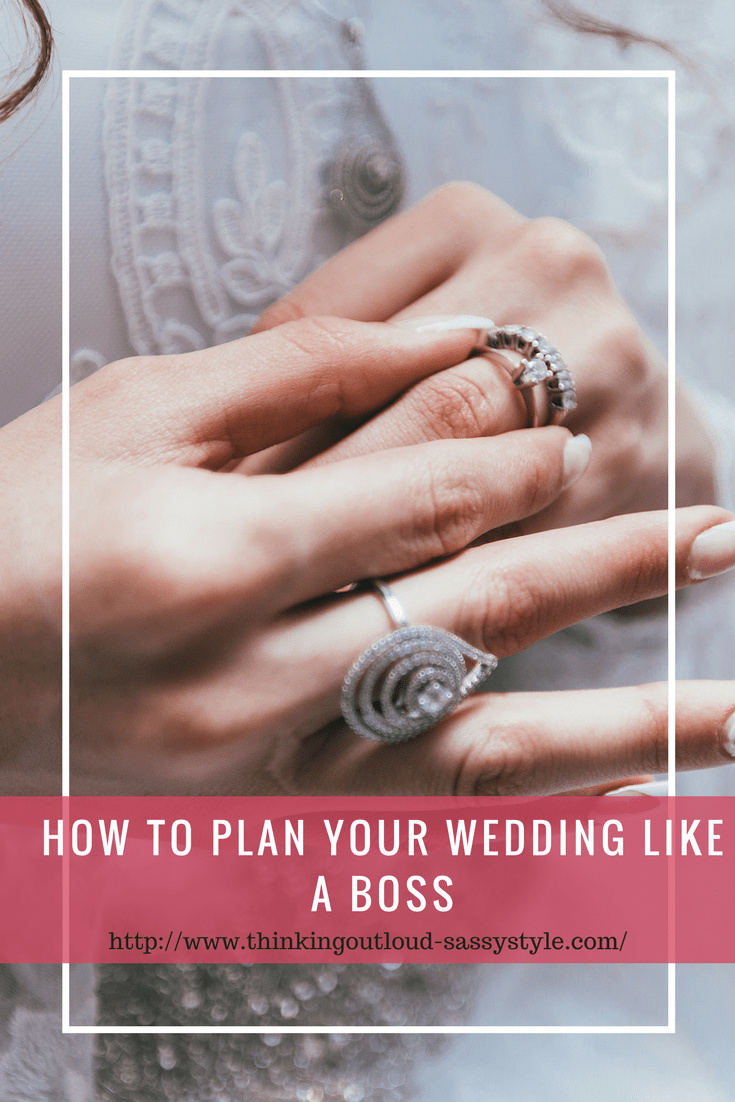 How to plan your wedding like a boss Plan your wedding