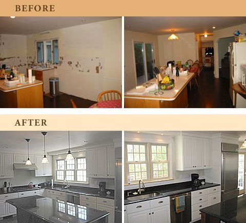 Kitchen Before And After Pics From