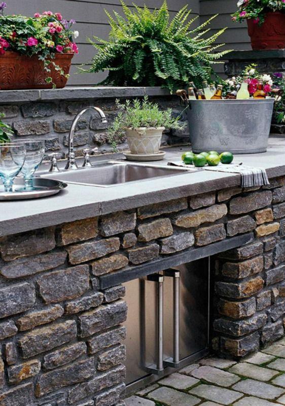 outdoor grill outdoor küche outdoor küchenmöbel Gartenküche - grillkamin bauen diese tipps werden sie bei der planung unterstutzen