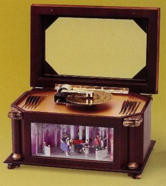 Music boxShowcase79037Jewelry boxAnimated Music Box Music