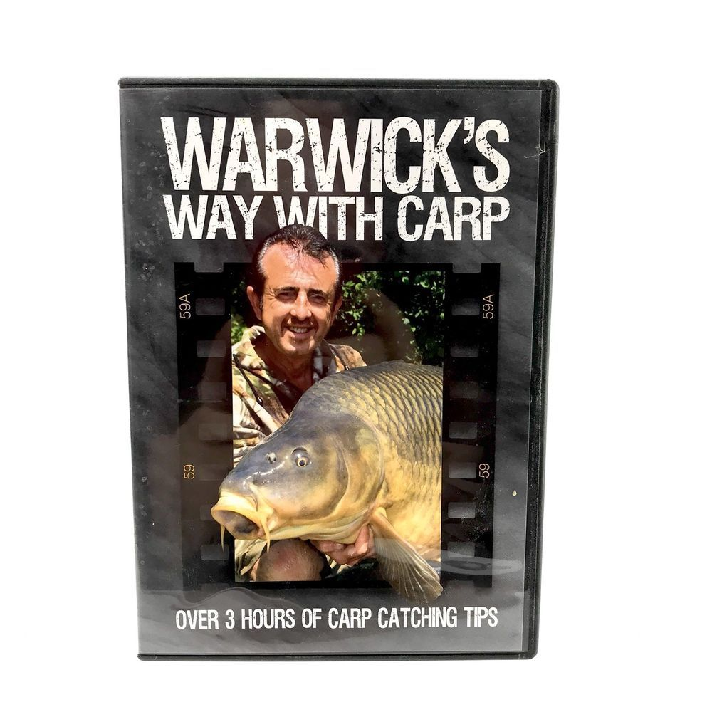 Warwick 039 S Way With Carp Dvd Fishing Bait Rigs Tackle Rods Reels Over 3 Hrs Long With Images Fishing Bait Catching Fish Fish