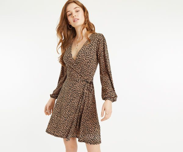 32d8914aec33 Oasis Animal Wrap Dress 69472 | Oasis Dresses http://www ...