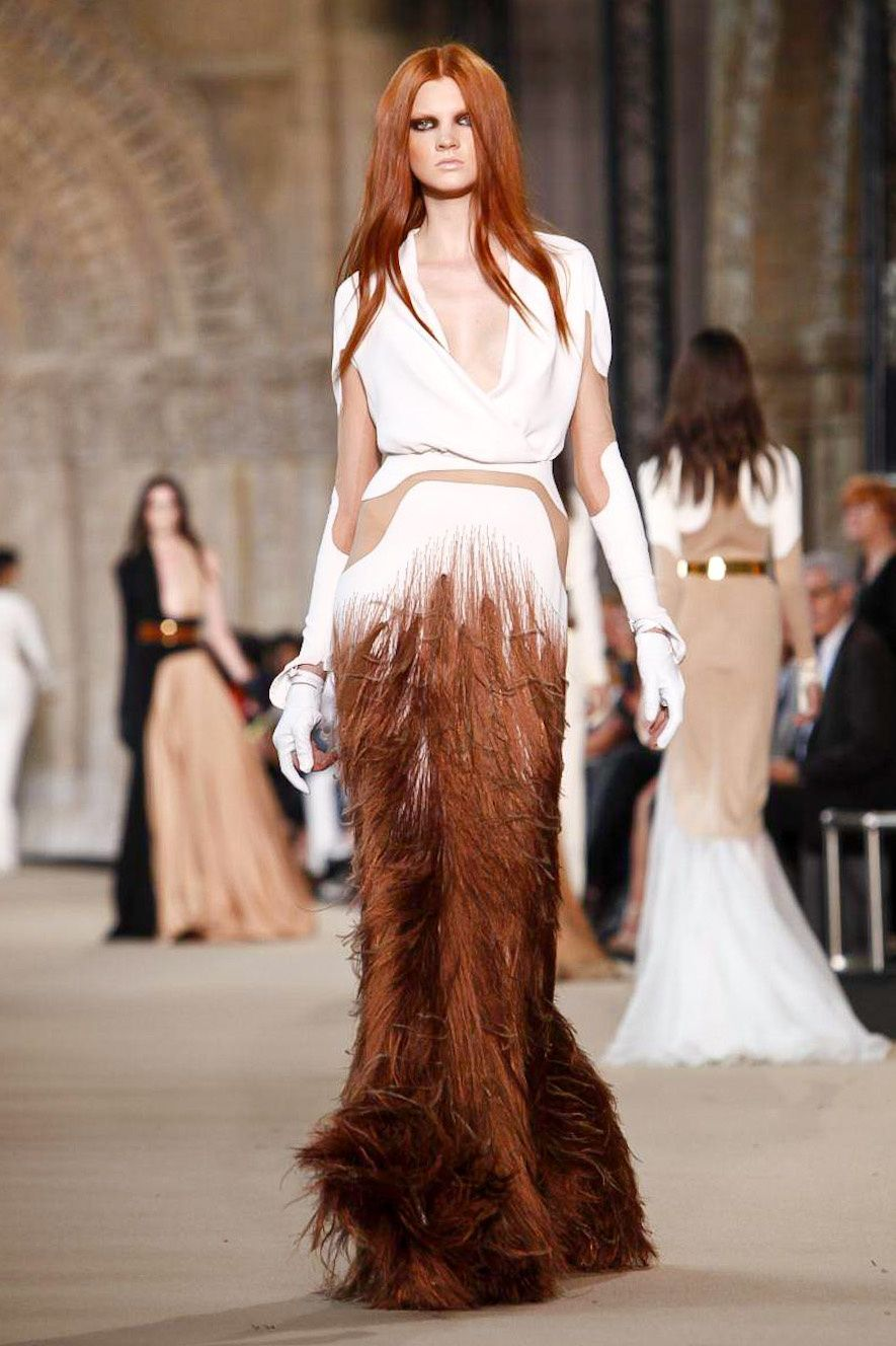 Stéphane Rolland Haute Couture Fall 2012 collection.
