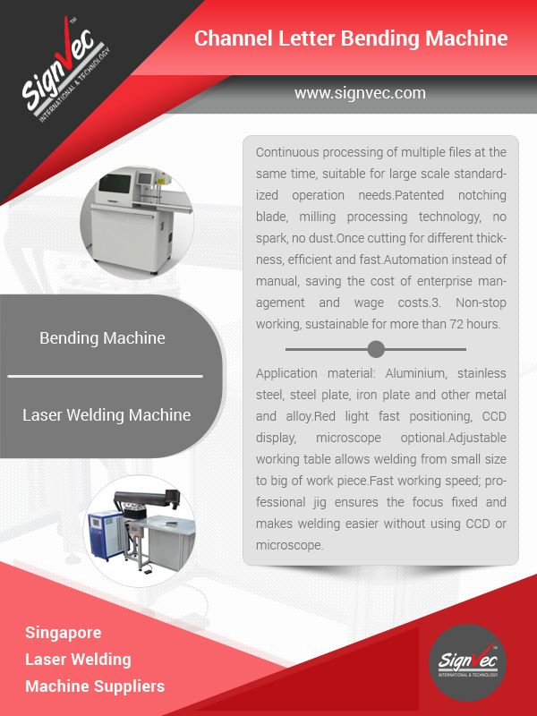 The lithe Principles of Channel Letter Bending Machine - Bending