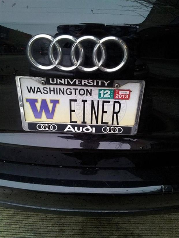 35 Funny License Plates Yikes Funny License Plates