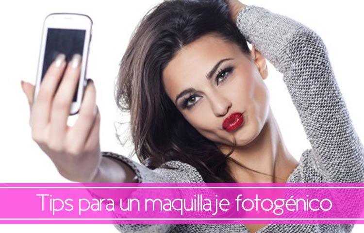 tips para conseguir un maquillaje fotogenico